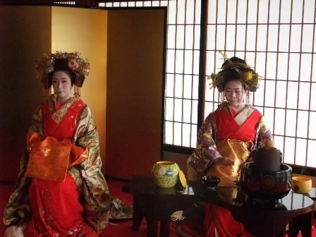 高台寺茶会2