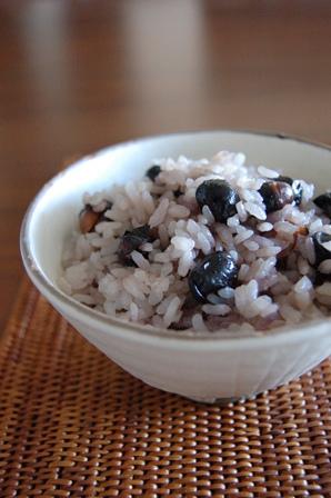 黒豆ごはん2012