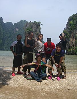タイみんなで海辺2