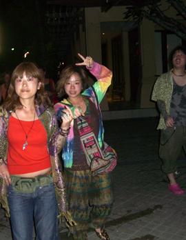 タイ夜中の散歩