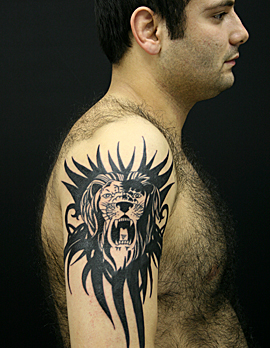 ライオンtribal