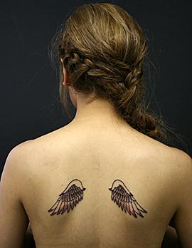 美しい翼お水さん