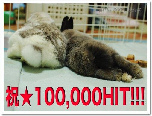 10万ヒット!!