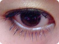 トップコート使用eye