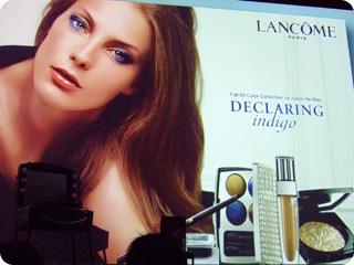 DECLARING indigo - LAMCOME Fall 09 Color Collection