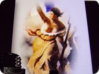 民衆を導く自由の女神 byウジェーヌ・ドラクロワ
