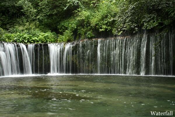 白糸の 滝