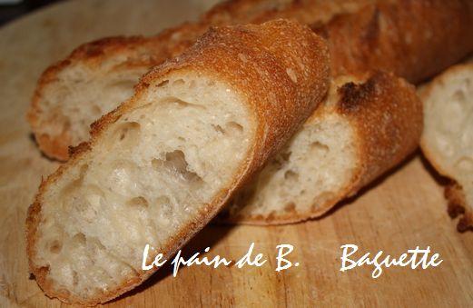 baguette le pain de b