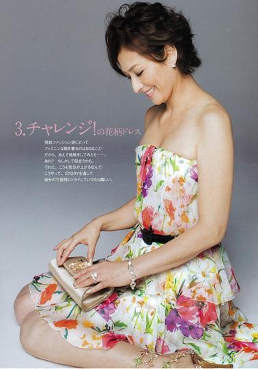 お手本にしたい芸能人のファッション・ヘアスタイル 清原亜希