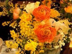 木村さんのお花