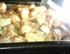 ジャガイモオーブン焼き