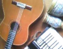 ギターとアコーディオン