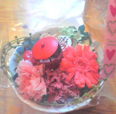 プリザーブド母の日アレンジ2010