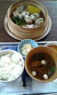 cafe bagel◇蒸籠(しゅうまい)ランチ