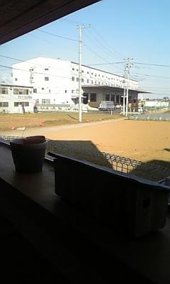 chapot cafe◇カウンター席からの眺め