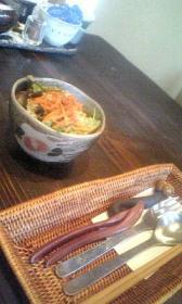 かぼ茶庵◇Bランチ・サラダ