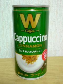 伊藤園 W Cofee CINNAMON Cappuccino front
