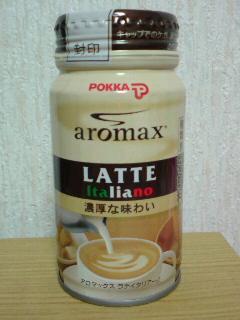 POKKA aromax LATTE ITALIANO front