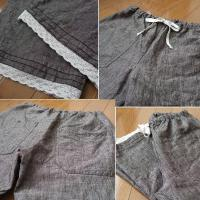 半端丈パンツ2