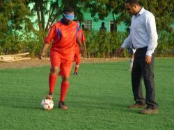 ブラインドサッカー 練習①