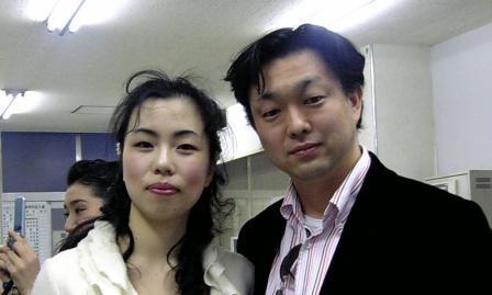 智恵さんと湯川晃さん