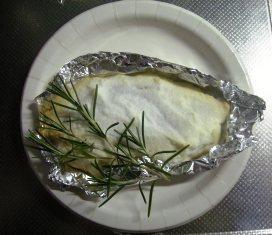 小鯛の塩釜焼き