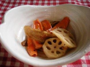 干し野菜のマリネ