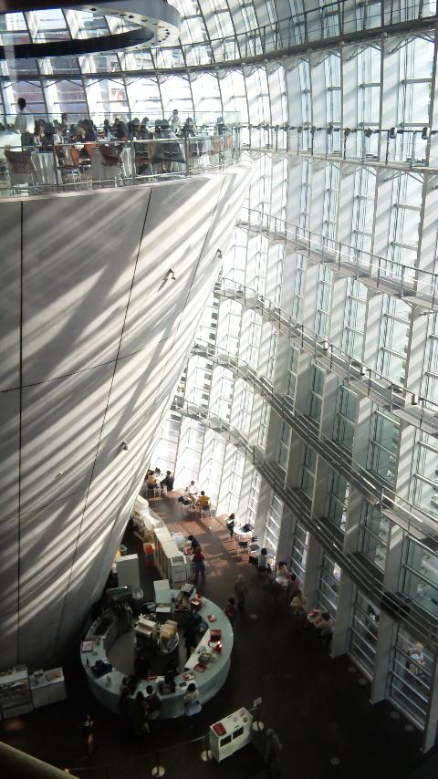 美術館空中カフェ