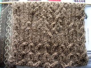 両面編み~42段だっけ