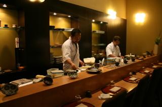 蝋器inレストラン大阪ミラノ店