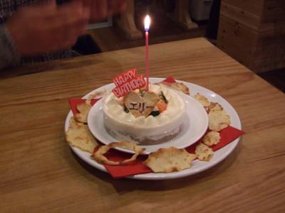 エリー1歳のお誕生日
