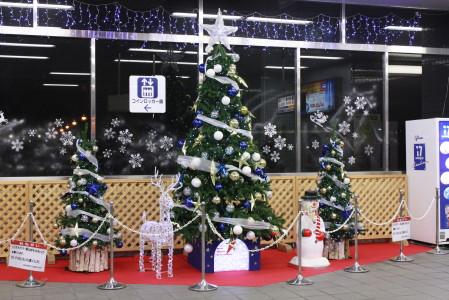 八景島駅のツリー