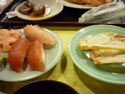 お寿司 焼きかに