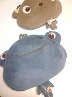 しじみ巾着 くまちゃん かえるちゃん カエル