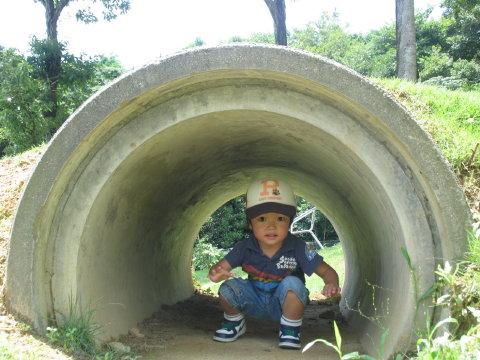 颯はトンネル~!!