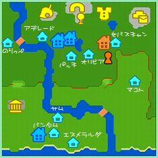 ほのぼの村地図