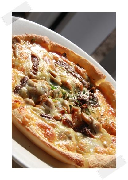 アンチョビピザ