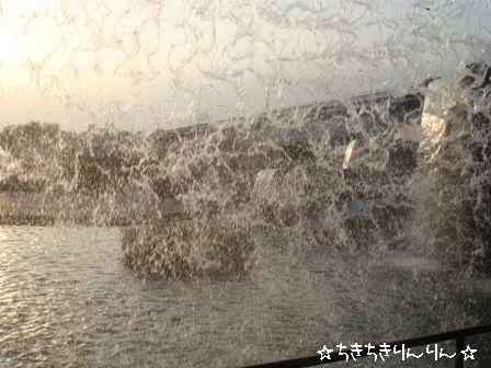 水のカーテン4