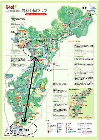 森林公園map
