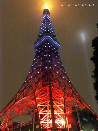 サムライブルー東京タワー③