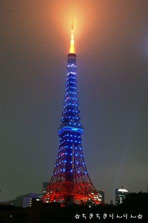 サムライブルー東京タワー④