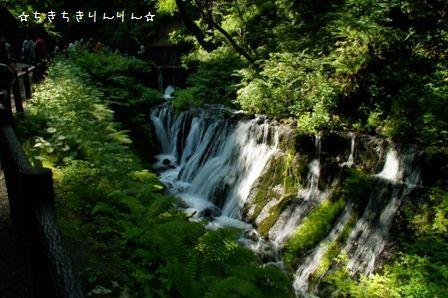 白糸の滝②