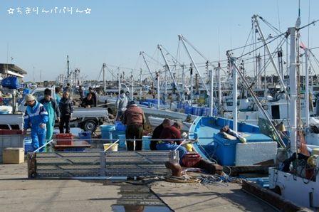 大洗町漁港