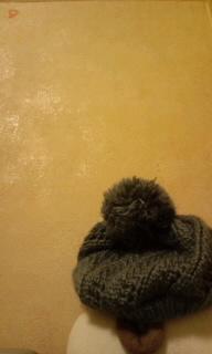 壁と帽子(写真)