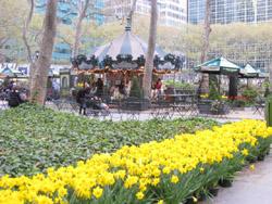 マンハッタンのBryant Park