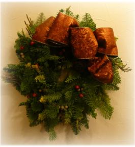 クリスマスリース2009