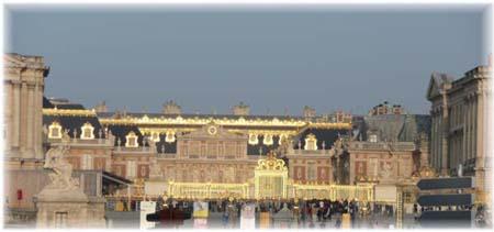 ヴェルサイユ宮殿正面