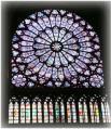 ノートルダム寺院バラ窓