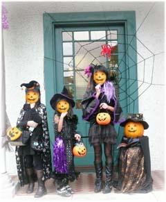 ハロウィン3姉妹