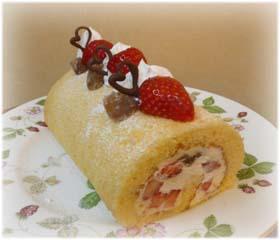 夫のバースデーケーキ